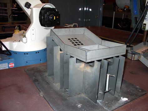CAM laser cut fixture