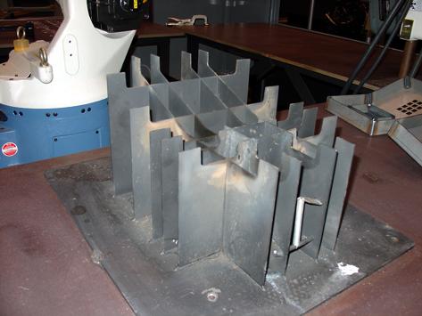 CAM laser fixture