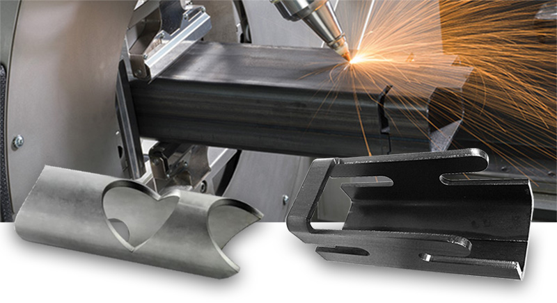 tube laser cutting metal